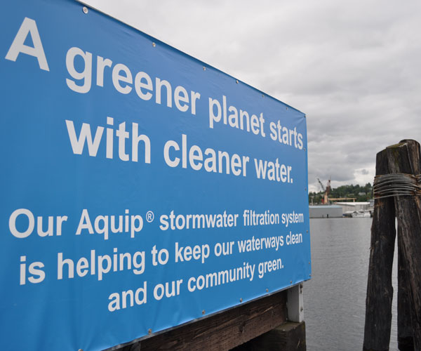 canal boatyard stormwater banner