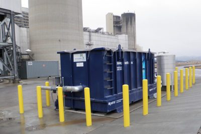 stormwater treatment steam electric generation