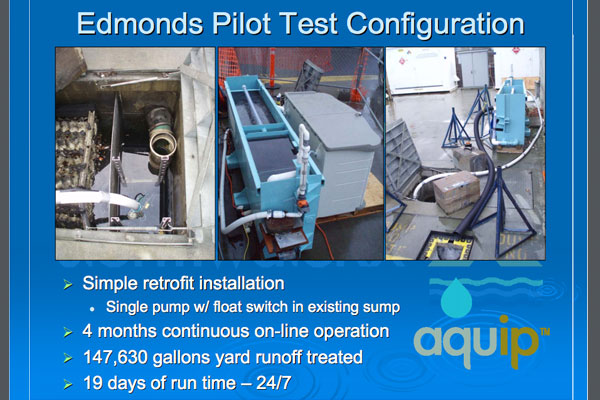 Edmonds Pilot Test Configuration