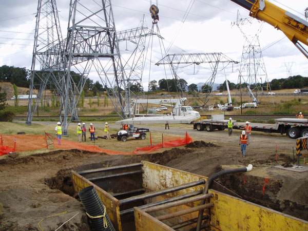 stormwater solution for pacific northwest power company