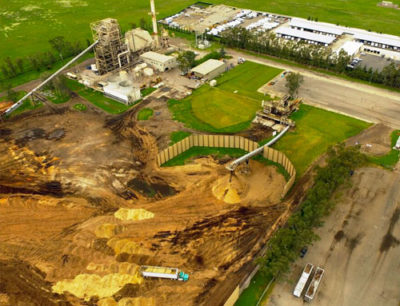 Biomass Power Plant stormwater