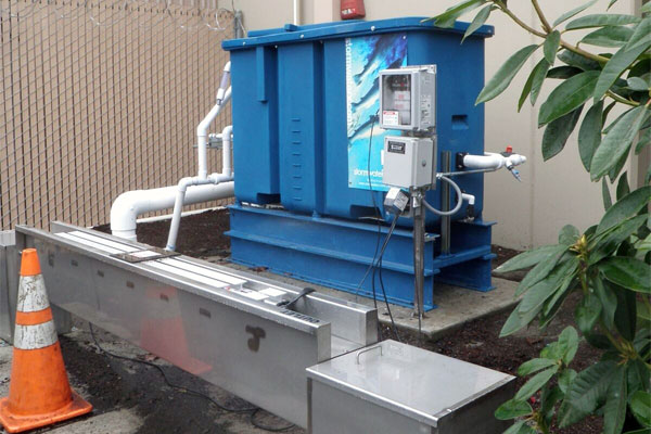 Stormwater Treatment System for Food Processing Industry