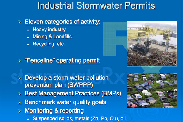 Industrial Stormwater Permits