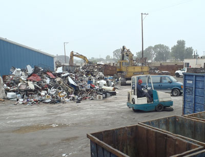 California metal recycling stormwater pollutants