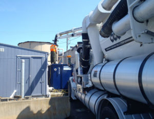 Maintenance and service of stormwater systems