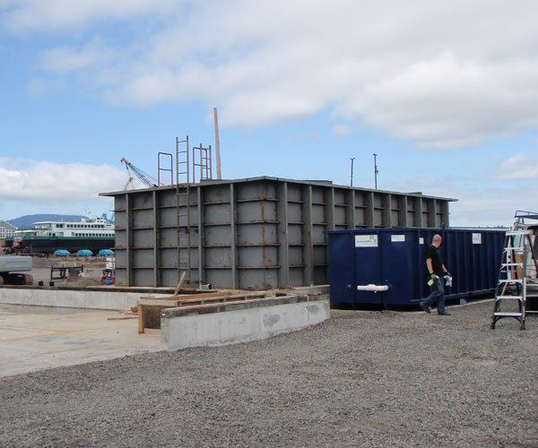 ship building and repair stormwater treatment