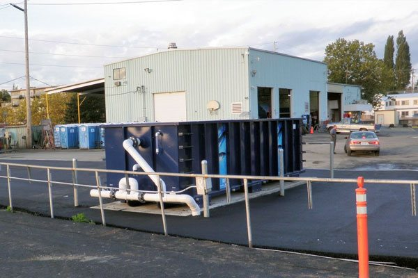 MS4 Stormwater Treatment solution