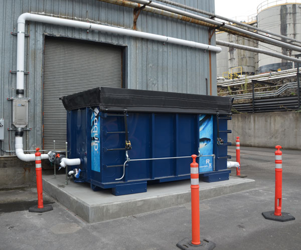 Exxon outdoor stormwater treatment equipment
