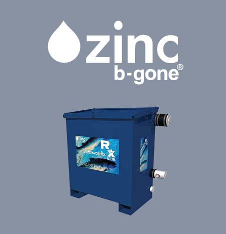 zinc b gone stormwater treatment